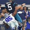 NFL 2018:  Jaguars vs Cowboys  OCT 14