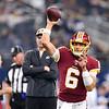 NFL 2018:  Redskins vs Cowboys  NOV 22