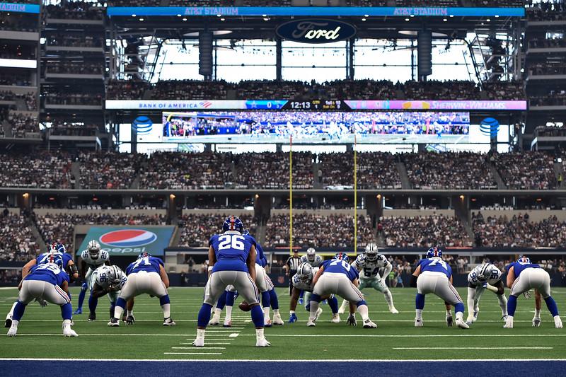 NFL 2019:  Giants vs Cowboys  SEP 8