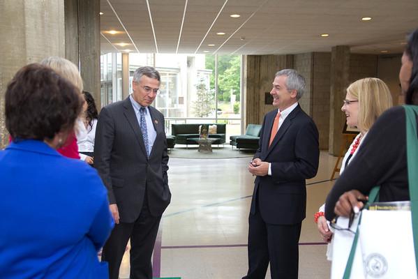 Congressman Rush Holt visits Stuart