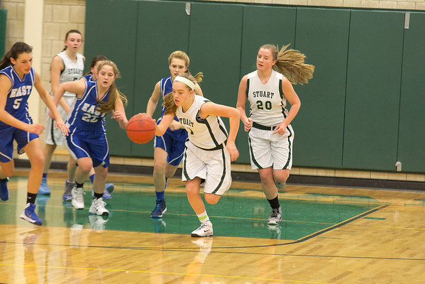 Middle School Basketball, February 10, 2014