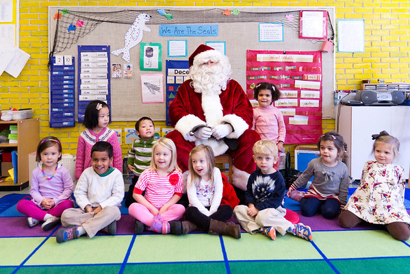 Santa in Early Childhood Classrooms