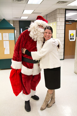 Santa in the Upper School