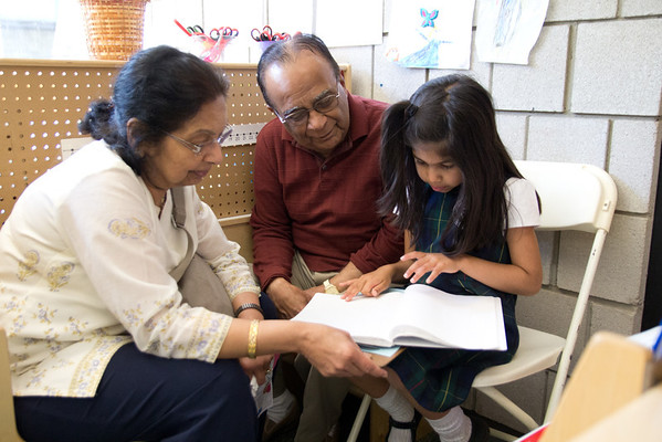 Lower School K–5 Grandparents Day