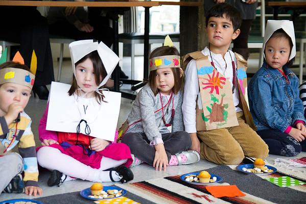 Preschool Thanksgiving Celebration