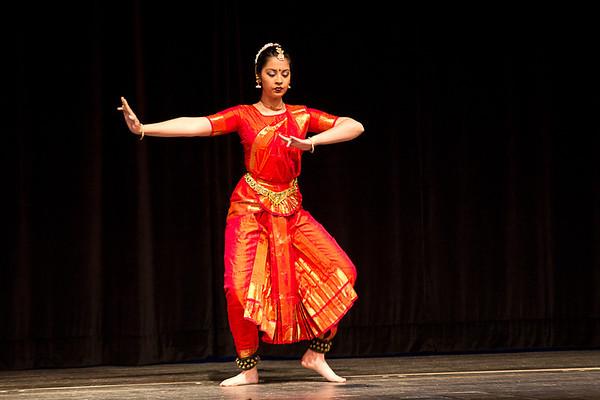 Indian dance demonstration