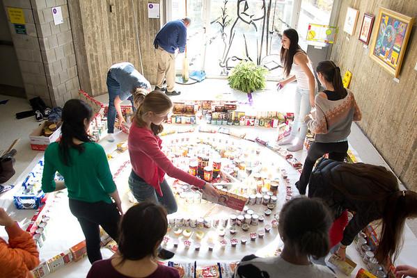 Thanksgiving Food Drive Mandala
