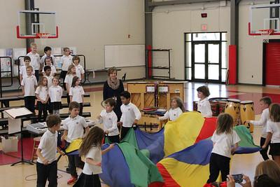 First Grade Music/Art Sharing Program