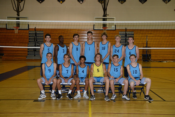 2014 Boys Volleyball team photos