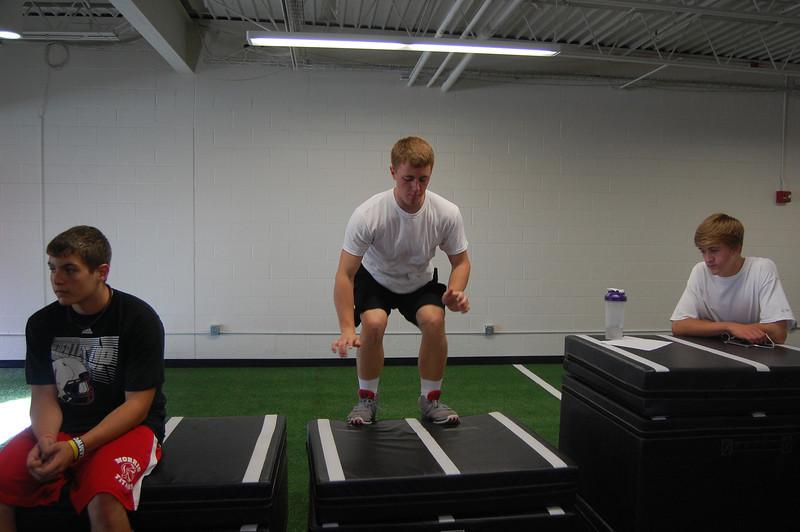 Nate Oden box jump