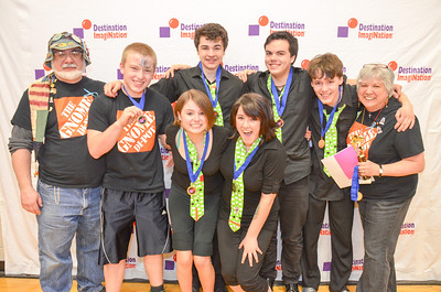 1st place, Pandemonium, secondary, Monadnock Regional HS, Swanzey, #130-01718