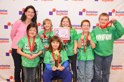 2nd Place, Laugh Art Loud, Elementary, Hollis Brookline Destination Imagination, Hollis, #130-67935