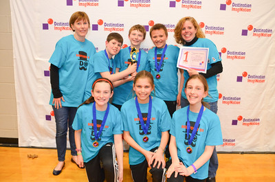 1st place, Pandemonium!, BME Mustaches, Bedford DI