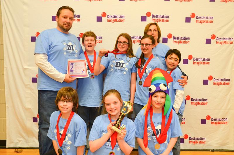 2nd place, The Tension Builds, Hooksett Memorial School, Hooksett, #130-48405