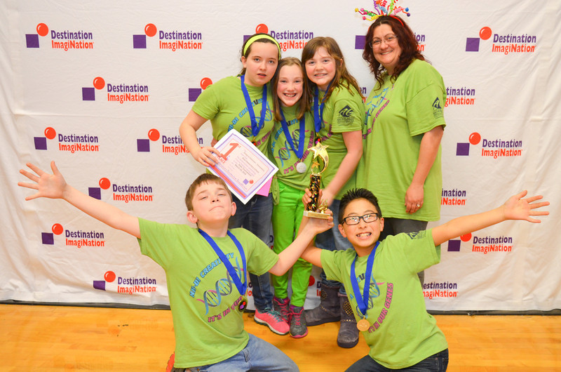 1st place, Going to Extremes, elementary, Bow Elementary School, Bow, #130-77942