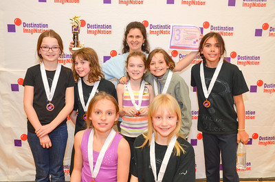 3rd Place, Laugh Art Loud, Elementary; Chesterfield School, West Chesterfield, #130-32396