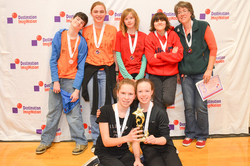 3rd place, Dig In, Middle Level, Bow Schools, Bow, #130-01243