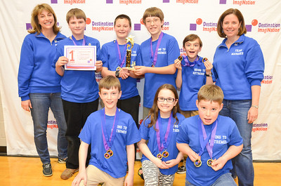 Renaissance Award and 1st place, Going to Extremes, middle level, Hollis Brookline Destination Imagination, Hollis, #130-53143