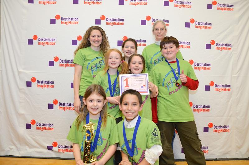 1st place, Laugh Art Loud, Elementary, NASD - Project PROMISE, Bristol, #130-96015