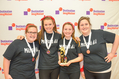 3rd place, Dig In, secondary, Milford High School, Milford, #130-70195