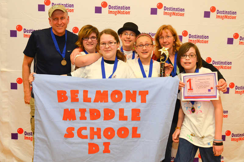 1st place, Pandemonium, middle level, Shaker Regional School District (Canterb, Belmont, #130-53351