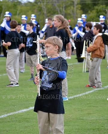 CHS vs Cleburne - Kerr Middle School Band Night