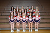 Varsity Cheerleaders<br /> Front Row (L to R): Mary Kate Ganow, Marisa Moseman, Laura Musil, Ashley Jensen, Brooklyn Smith<br /> 2nd Row (L to R): Elyssa Koehler, Jordan Patt, Jessie Dubas, Jade Reno, Morgan Shea<br /> 3rd Row (L to R): Katie Johnson, Stephanie Russell, Cara Neukirch, Katie Trapp, Madisyn Hemenway, Taylor Slama<br /> Not Pictured: Katherine Kechely, Sierra Schurman