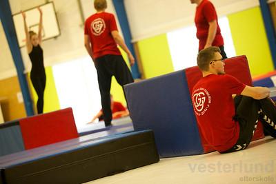 Opvisningsdag i Vesterlund med hold fra Vesterlund, Thyregod, Give og Kolding