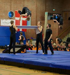 Gymnastikopvisning med Vesterlund Efterskole