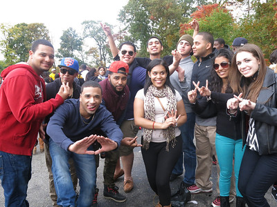 Homecoming greeks