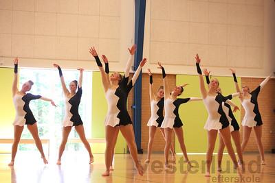 Gymnastik på jubilardag