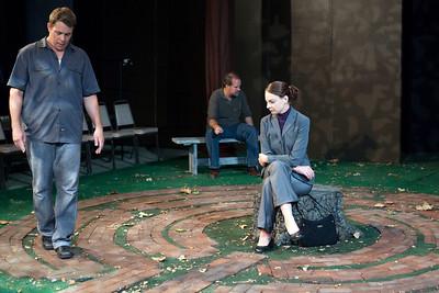 L-R: Jeff Kargus as Tuck, B. Weller as Nye, Elizabeth Graveman as Mills