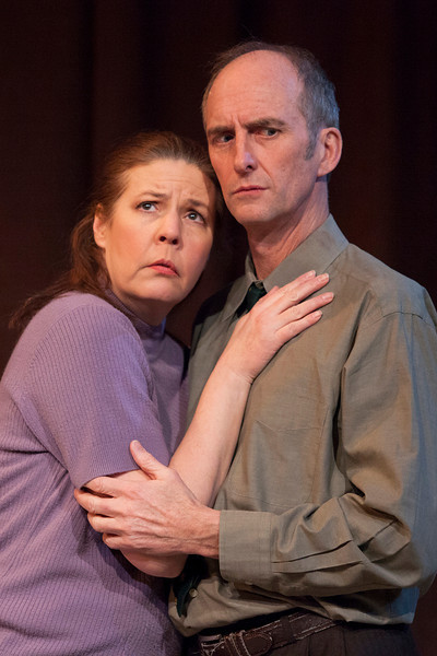 """Theresa Masters as Hannah Wilson-Tracey, Colin Nichols as Andy Tracey in """"Losers"""""""