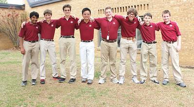 Middle School Academic Team 2014
