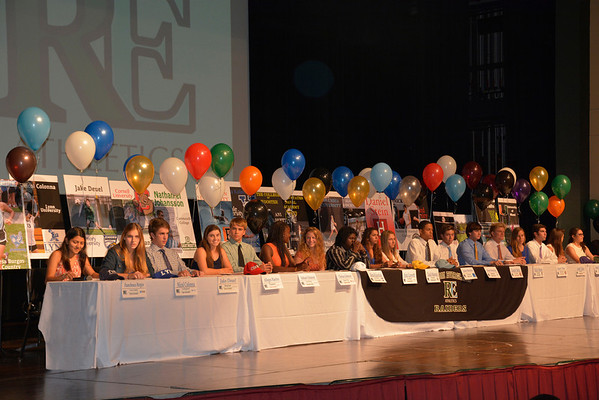 NCAA Signing Day Ceremony 2014