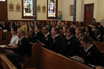 Senior Class Mass