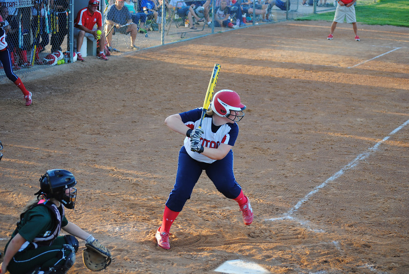 Maddie Gloe Batting