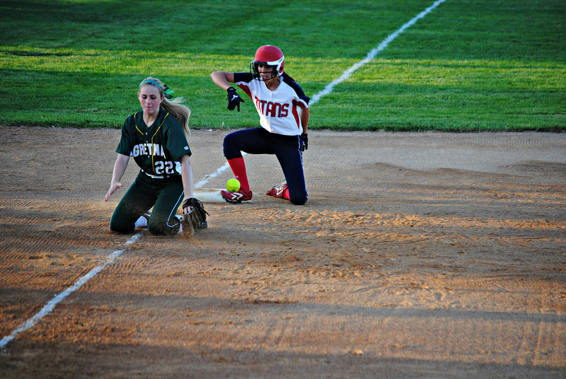Makaela Oltman Safe at Third