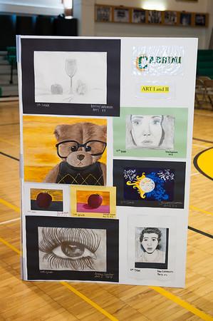 Speech Auction, AP Art Show, & Funny Girl