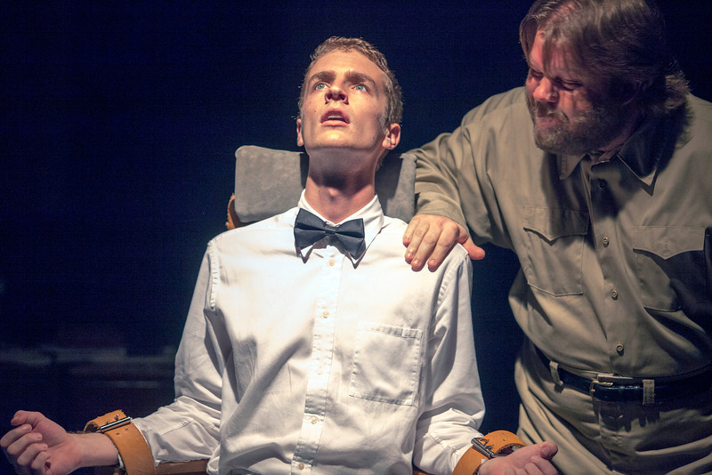 L-R: Pete Winfrey as Lamb and Nick Kelly as Tubb