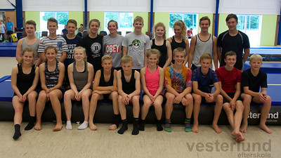 Talentsamling i Tumbling for mini, junior og seniorer