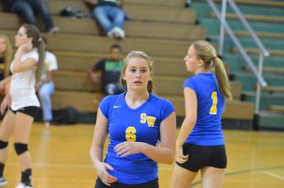 9/16/2013 Eastern Randolph High School vs. Southwestern Randolph High School Volleyball 9/16/2013