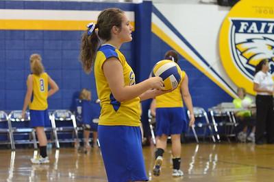 9/9/2013 Faith Christian Volleyball