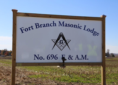 Fort Branch Lodge #696 Dedication & 100yrs