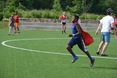 Super heros in action