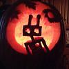 Hannah's robot/team pumpkin contest entry