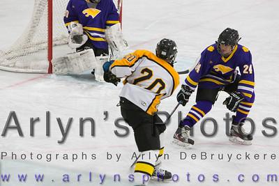 Hutch Boys Hockey vs Waconia