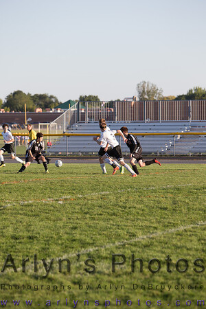 Hutch Boys Soccer vs Northfield