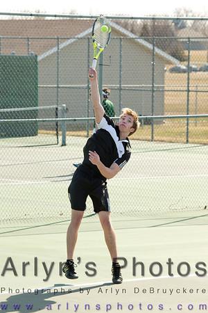 Hutch Boys Tennis 3-10-14