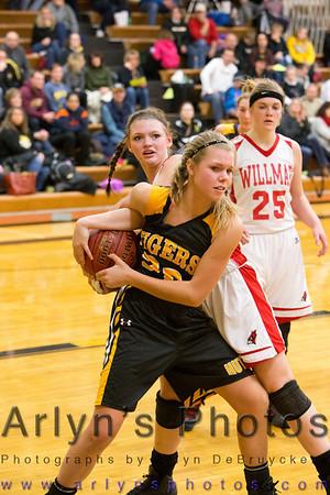 Hutch Girls Basketball 12-14